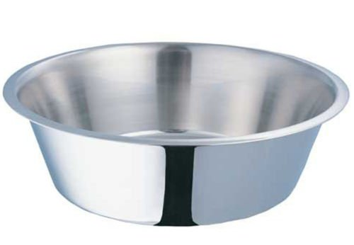 Bonka 800006 Stainless Steel Standard 1/2 Pint Bowl Cage Cup Dish Bird Dog Food Water (Water Dish For Bird Cage compare prices)