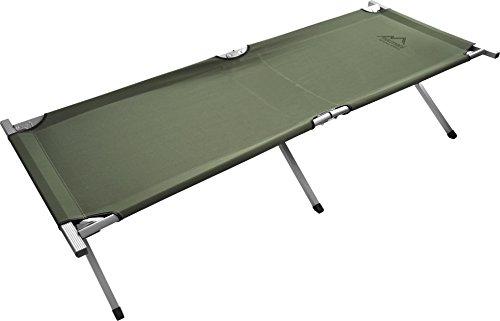 US-Army-Alu-Feldbett-oliv-verstrkt-Farbe-Oliv