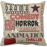Movie Theater Cinema Genre Ticket Red Throw Rb768862a05be4ba4b89d0d226ad84069 I5f0b 8byvr Pillow Case 18