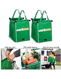 Household Set Of 2 Carry-on Shopping Grab Bags