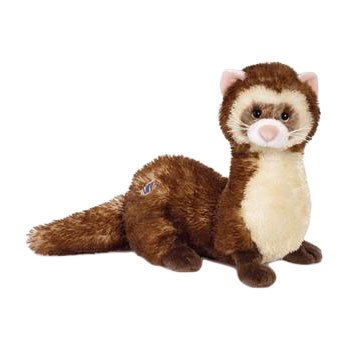 Webkinz Plush Ferret Stuffed Animal Ferret