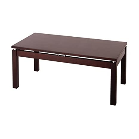 Linea Coffee Table with Chrome Accent Linea Coffee Table with Chrome Accent