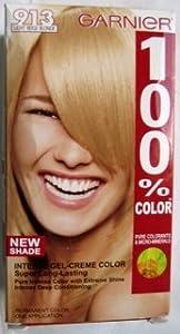 Garnier 100% Color, 913 Light Beige Blonde
