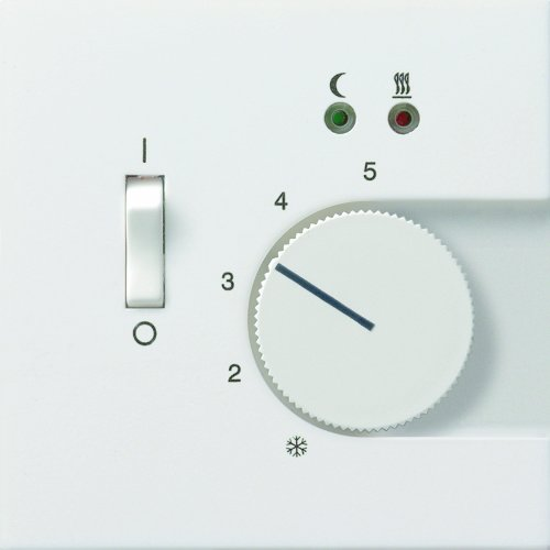 gira 0394112 raumtemperatur regler 230v mit sensor fu bodenheizung fl chenschalter reinwei. Black Bedroom Furniture Sets. Home Design Ideas