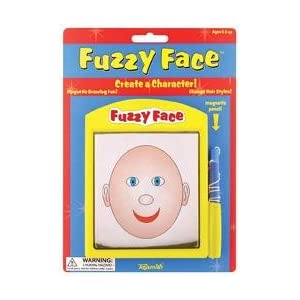 Magnetic Pencil Metal Shavings Fuzzy Face Toy