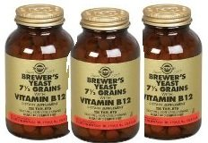 Brewer's Yeast 7 1/2 Grains 250 Tabs 3-Pack