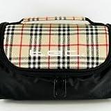 TGC ® Sat Nav GPS Case/Bag for Snooper Strabo with shoulder strap and Carry Handle (Black & Check)