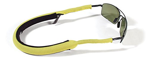Croakies Stealth Floater Floating Eyeglass Retainer in Yellow 17