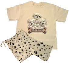Buy Maltese Lounge Wear Set