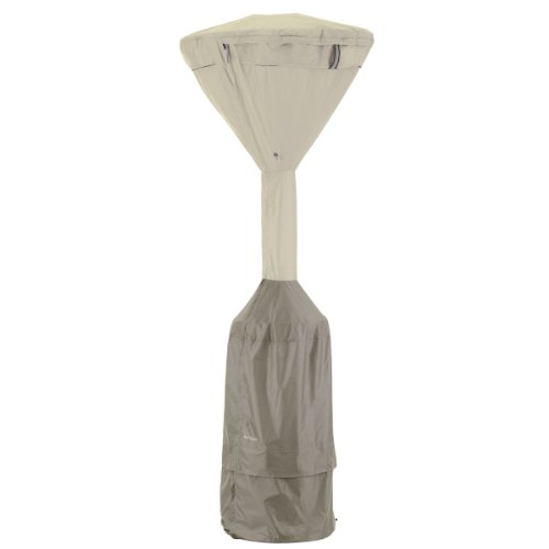 Classic Accessories 55-273-015501-00 Belltown Standup Patio Heater Cover, Grey