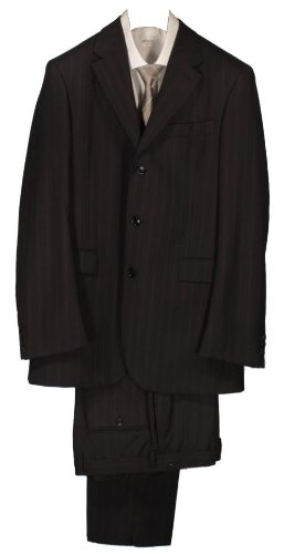 Kenzo Single Breasted 3 Button Suit - Navy - 38