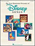 New Illustrated Treasury of Disney Songs - 6th Edition - Piano/Vocal/Guitar