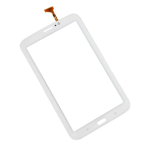 Samsung Galaxy TAB 3 SM-T211 SM-T210 7.0 Touch Glass Lens Digitizer Screen Replacement (T211 3G Ver. With Speaker Hole, White color)