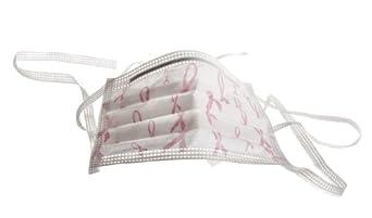 Pink Ribbon Surgical Face Masks,Breast Cancer Logo, MASK,FACE,TIES,PINK RIBBON - 1 CS, 300 EA