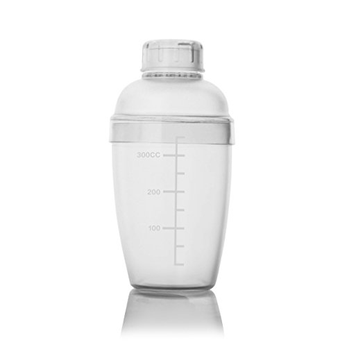 Homestia Modern Plastic Cocktail Shaker Mixer 12oz (Plastic Cocktail Mixer compare prices)