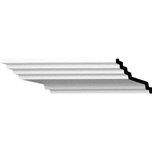 Ekena Millwork MLD01X04X04AD  1 3/4-Inch H x 4-Inch P x 4 1/2-Inch F x 94 1/2-Inch L Adonis Traditional Smooth Crown Molding