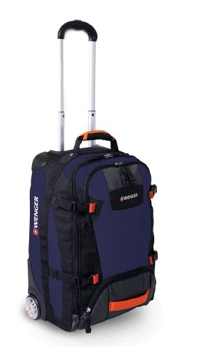Wenger Rolling Upright Bag - Navy, 21-inch
