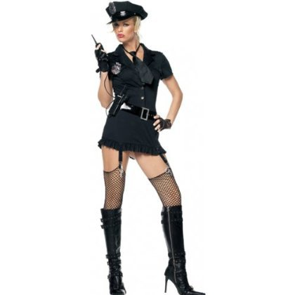 Dirty Cop Costume - Medium/Large - Dress Size 8-12