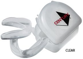 Century 2 Piece Mouth Guard & Case - Mouth Guard Kit - Clear by Gungfu