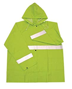 Boss 3PR0350NX Extra Large Fluorescent Green 35mm Rain Jacket from Boss Gloves
