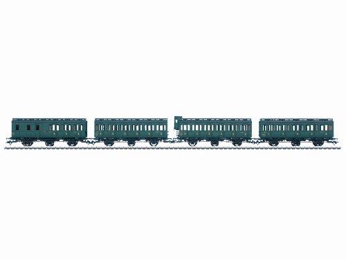 42040-Mrklin-H0-Set-mit-4-Abteilwagen-SNCF-Ep-III