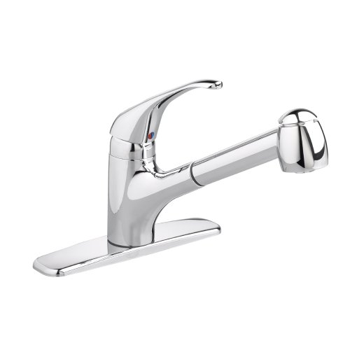 American Standard 4205.104F15.075 Reliant+ 1-Handle Pull-Out Kitchen Faucet with 1.5 gpm Aerator, Stainless Steel