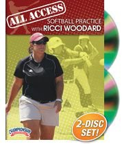 All Access Softball Practice with Ricci Woodard (DVD) by Championship Productions