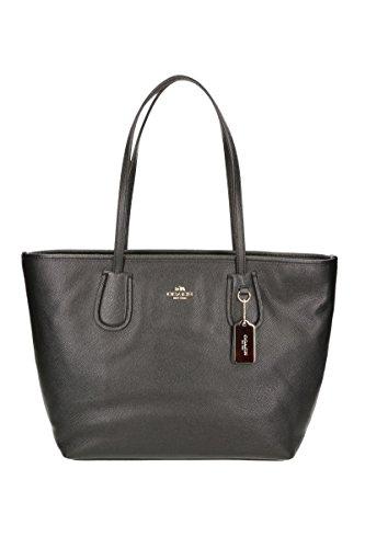 coach-bolsa-de-compra-para-mujer-color-negro-cierre-con-cremallera-un-bolsillo-interior-female-negro