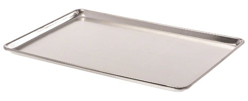 Browne Foodservice BP1826-40 Thermalloy Aluminum Full Size Bun Pan, 18-Guage