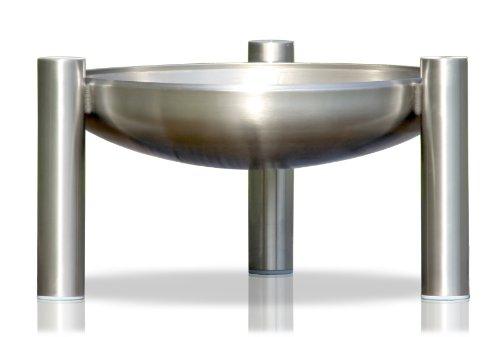 Edelstahl Feuerstelle, Ø 90 cm, RICON, deutsche Herstellung günstig