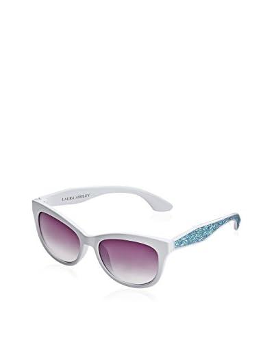 Laura Ashley Women's LA1104 Sunglasses, White
