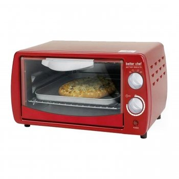 Classic Red Toaster Oven