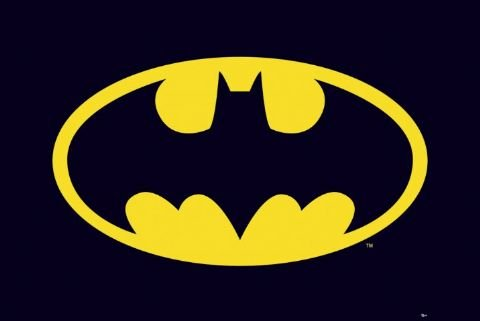 Batman - Poster (Bat Logo) (Size: 36'' x 24'') at Gotham City Store