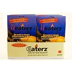 Heaterz Flameless Heater Magic Oven Bags for Camping, MRE's & Hiking ~ Pack of 10! by Heaterz