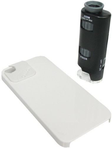 Carson - Micromax Plus Iphone(R) 4/4S Adapter Microscope *** Product Description: Carson - Micromax Plus Iphone(R) 4/4S Adapter Microscope Includes A Powerful 60-100X Power Pocket Microscope & An Iphone(R) 4/4S Case With Adapter Use With Iphone(R ***