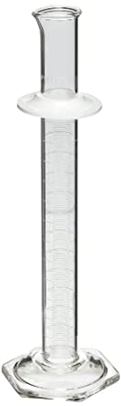 """Corning Pyrex 3022-25 Glass 25mL """"To Contain"""" Graduated Single Metric Scale Cylinder"""
