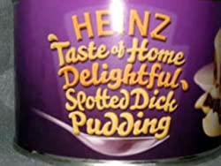 Heinz Spotted Dick Pudding 10 oz - 300g - Tin