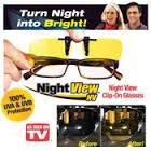 Night View Glare Blocker Clip Ons For Eyeglasses Hd Vision Glasses