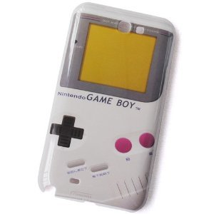 Coque style game boy pour Samsung Galaxy Note 2 II N7100