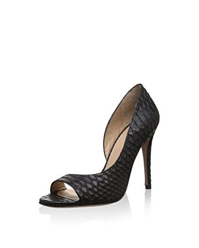Pura Lopez Zapatos peep toe