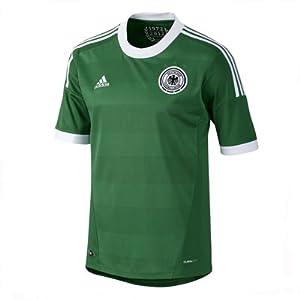 adidas Kinder Trikot Away EM 2012, grün/weiß, 140, X21824