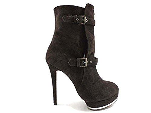 scarpe donna RICHMOND 36 tronchetti t.moro camoscio WH849