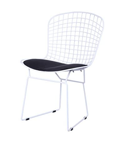 Manhattan Living Wire Side Chair, Black
