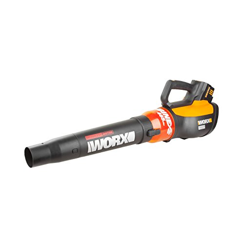 WORX WG591 TURBINE 56V Cordless Blower with Brushless Motor and Variable Speed, up to 465 CFM, Battery and Charger Included (Leaf Blower Variable Speed compare prices)