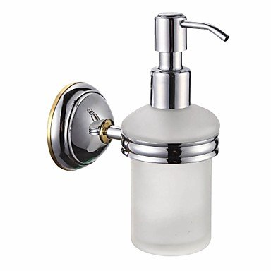 Bathroom Accessories Solid Brass Soap Dispenser