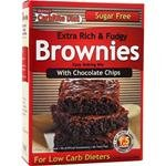 Doctor's Carbrite Diet - Chocolate Chip Brownie Mix, Sugar Free 11 Oz