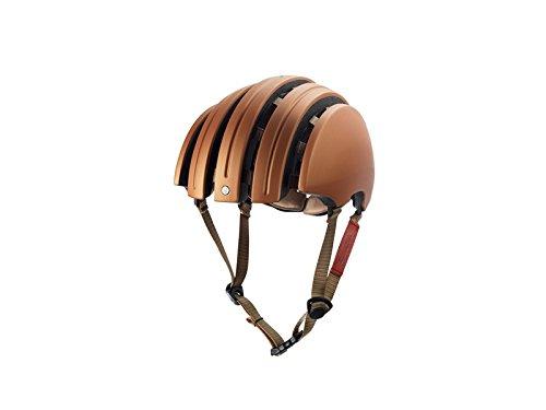 BROOKS ブルックス J.B. CLASSIC CARRERA FOLDABLE HELMET ヘルメット M COPPER