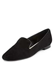 Autograph Suede Square Toe Shoes with Insolia Flex®