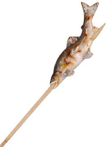 食品サンプル パーツ 焼魚 鮎の塩焼き 両面 串付 29-059-43643