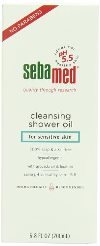 Sebamed Cleansing Shower Oil, 6.8 Fluid Ounce